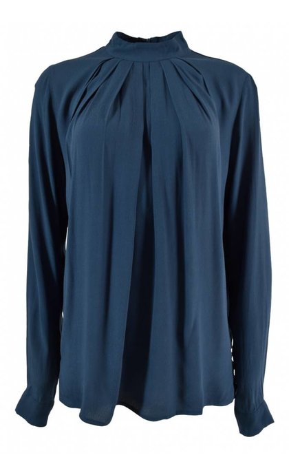 Minus Nola Blouse Blue Depths