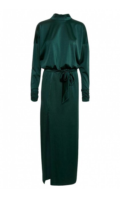 Gestuz Arista Long Dress Deep Pine