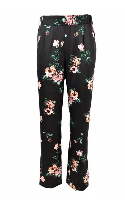 Second Female Florali Trousers Black