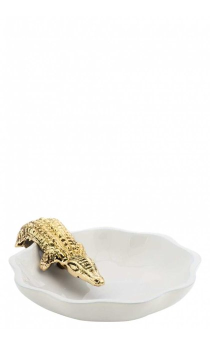 Anna + Nina Trinket Dish Alligator