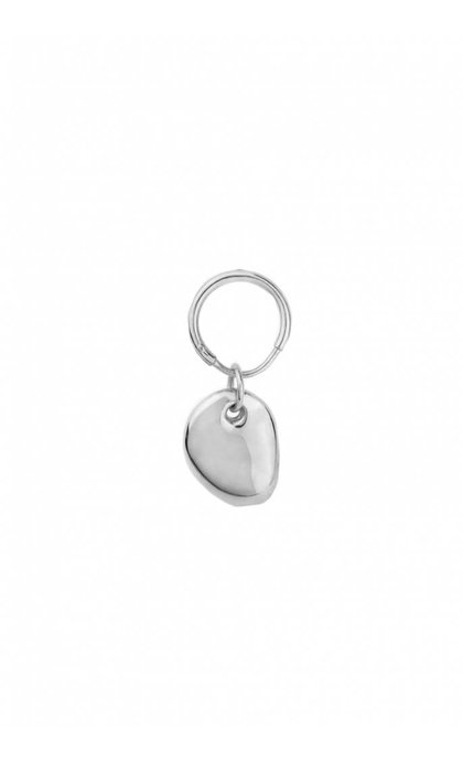 Wildthings Collectables Pebble Earring Silver