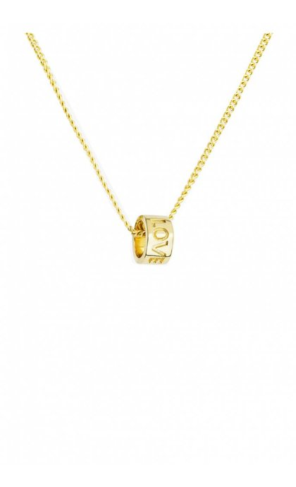 Wildthings Collectables Love Dream Necklace Goldplated