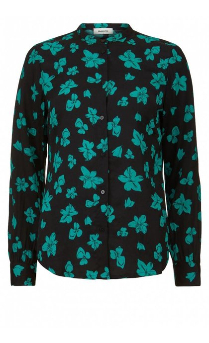 Modstrom Mandy Print Shirt Flower Fairytale