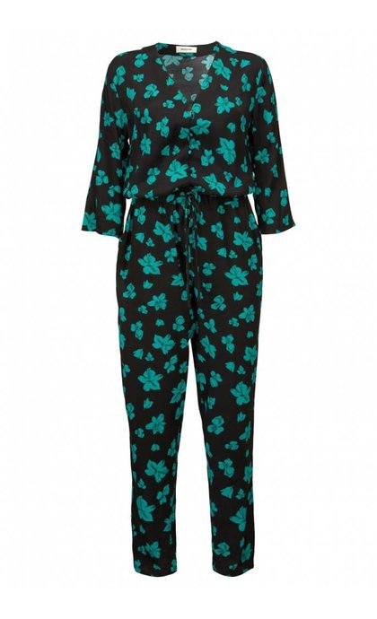 Modstrom Mandy Print Jumpsuit Flower Fairytale