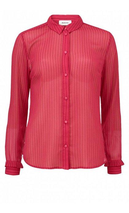 Modstrom Mali Print Shirt Herringbone