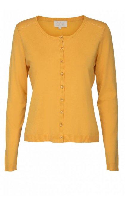 Minus New Laura Cardigan 358 Golden Yellow