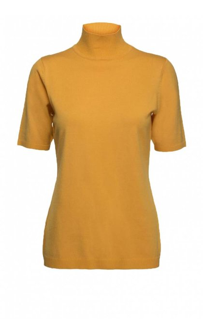 Minus Lima Roll Neck Knit 358 Golden Yellow