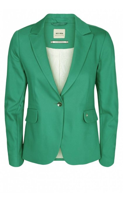 Mos Mosh Blake Night Blazer Pool Green