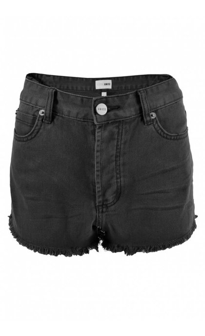 Amuse Society Shoreline Short Leo Walkshorts Off Black