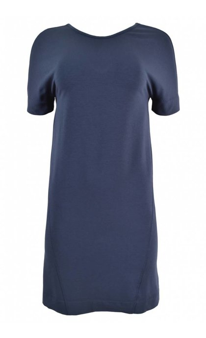 Denham Compass Dress SST Blue