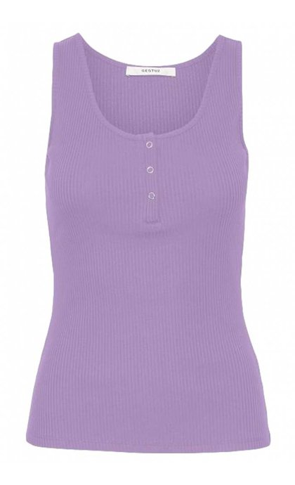 Gestuz Rolla Tank Top Sheer Lilac