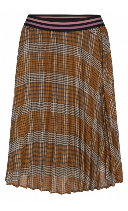 Sofie Schnoor Skirt Brown Check