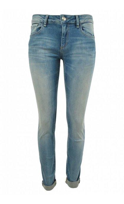 Mos Mosh Summer Ida Long Jeans Light Blue Denim