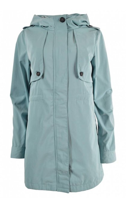 Elvine Brenda Summer Coat Twill Stone Blue