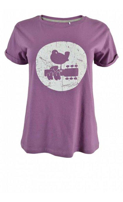 MKT Studio Trine Woodstock T-Shirt Lavande
