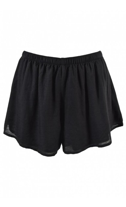 Amuse Society Playa Paradiso Black Walkshorts