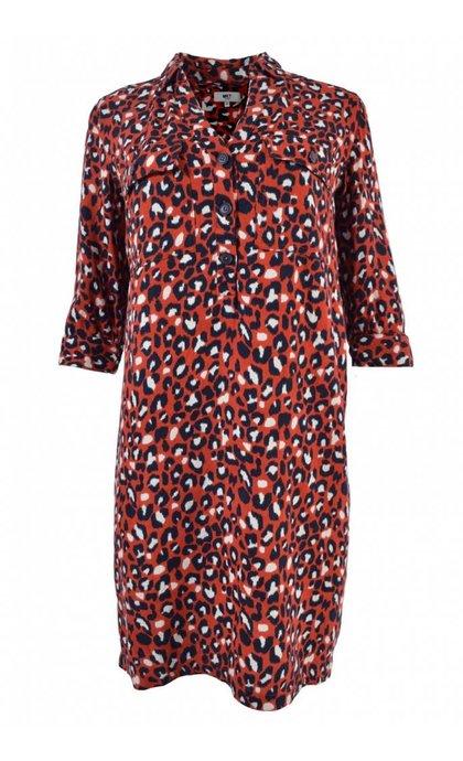MKT Studio Raphael Kenya Dress Rust