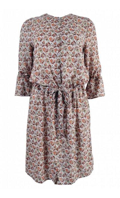 Alchemist Dress Kamila Lotus Shine Print