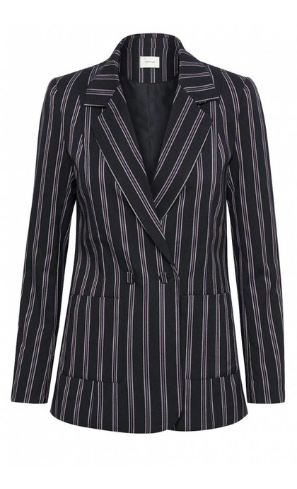 Gestuz Catta Blazer Deep Well Stripe