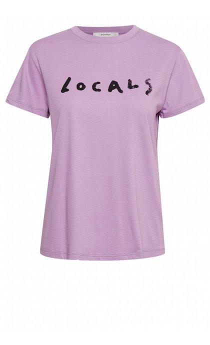 Gestuz Locals Tee Sheer Lilac