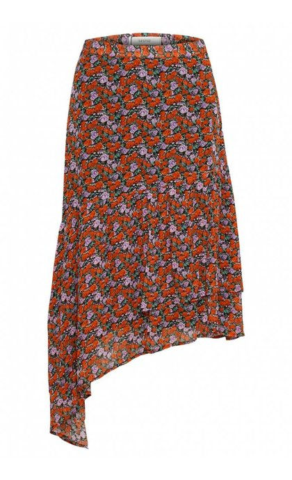 Gestuz Rosanna Skirt Small Red Rose
