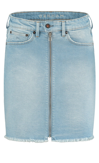 Denham Liz Zip Skirt - PUNKB