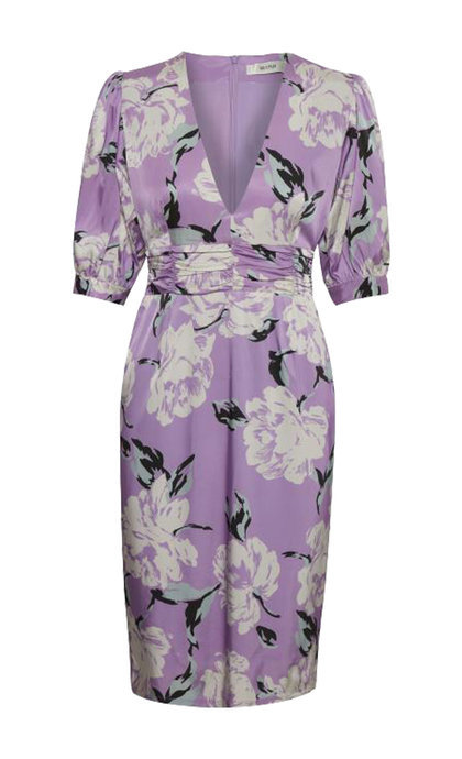 Gestuz Gwin Dress Purple Flower