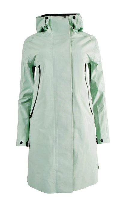 Krakatau QW212/5 Mishima Hooded Rain Coat Mint