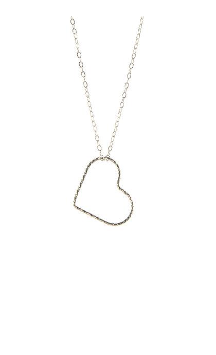 Blinckstar 925 42cm With Ext Glitter Heart
