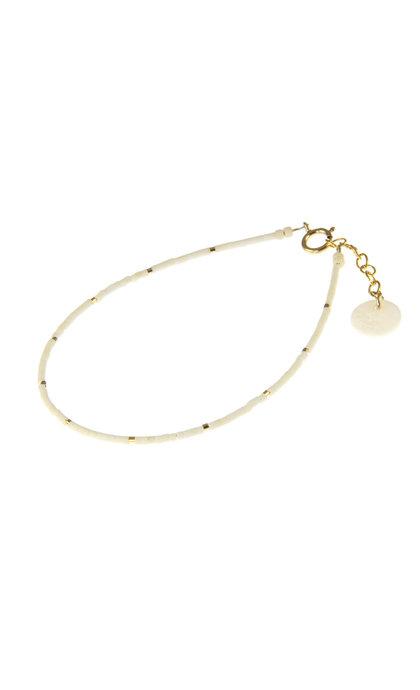 Blinckstar GF White Matte Mini Beads