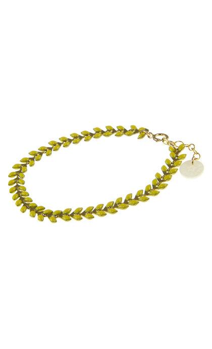 Blinckstar GF Fishbone Bracelet Bright Sun
