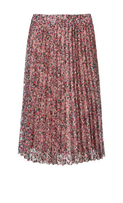Modstrom Nabiha Print Skirt Flower Bomb