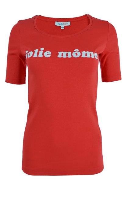 La Petite Francaise T-shirt Toinette Rouge