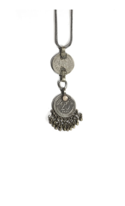 Moost Wanted Madilyn Double Coin Necklace