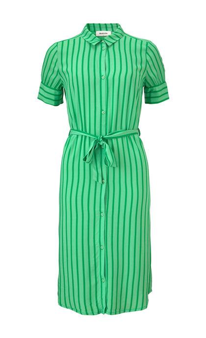 Modstrom Otis Print Dress Meadow Stripe