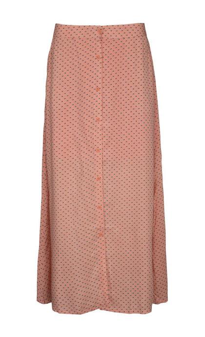 Minus Marli Skirt Bow Print Coral