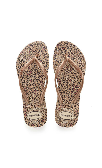 Havaianas Slim Animals Beige/ Rose
