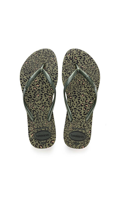 Havaianas Slim Animals Olive/Green