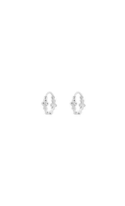 Anna + Nina Eden Ring Earring Silver