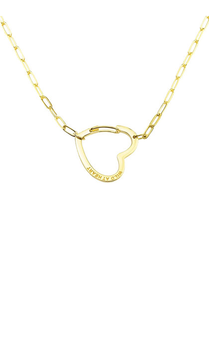 Wildthings Collectables Wild at Heart Necklace Goldplated