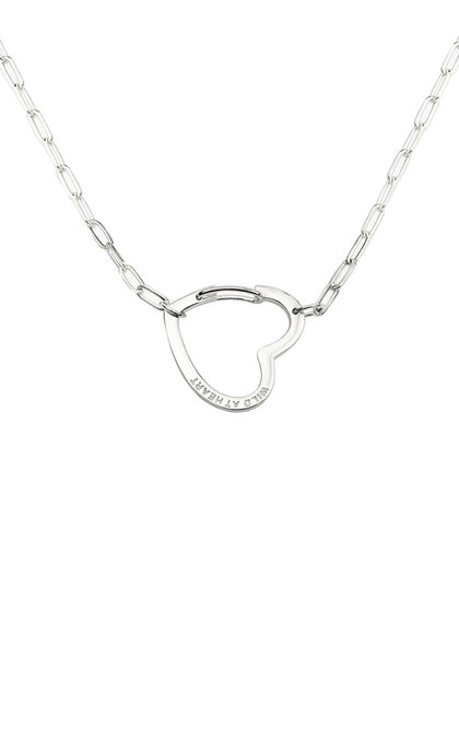 Wildthings Collectables Wild at Heart Necklace Silver