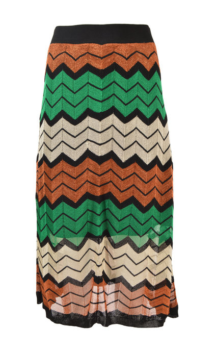 Second Female Wave Knit Skirt Blarney