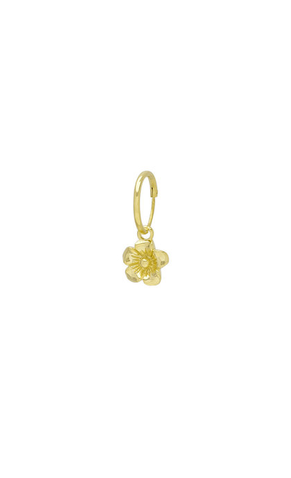 Wildthings Collectables Wild Flower Earring Goldplated