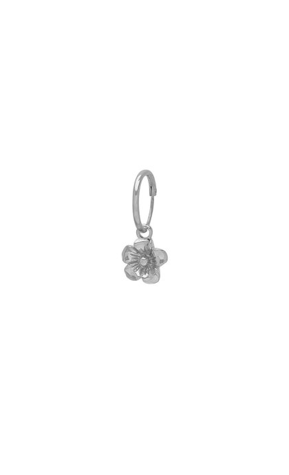 Wildthings Collectables Wild Flower Earring Silver
