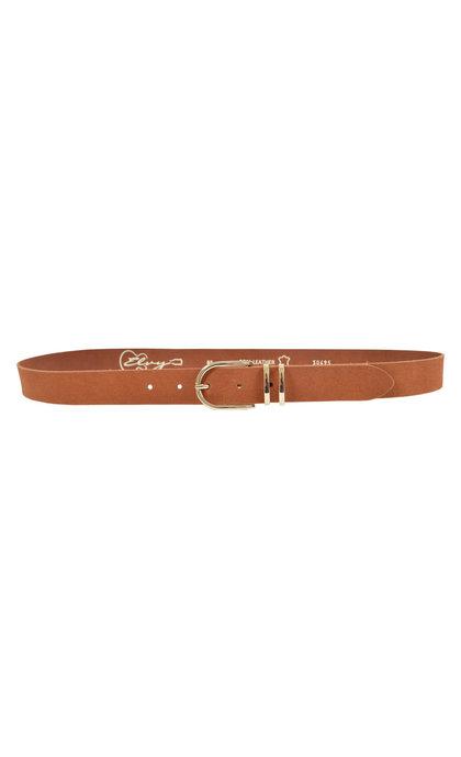 Elvy Belt Suede 30495 Cognac