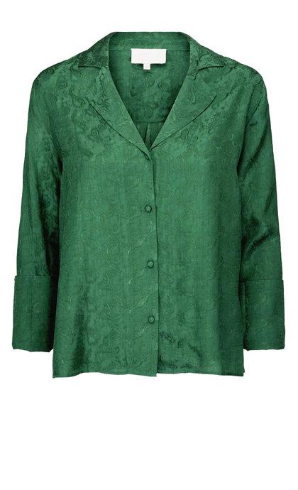 Minus Krista Shirt Hunter Green