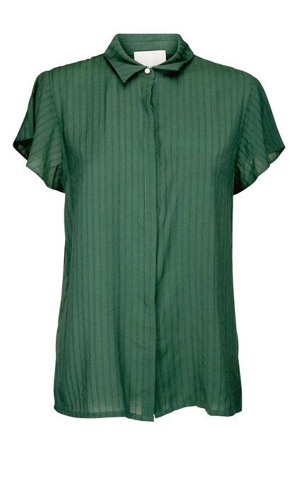Minus Summer Shirt Hunter Green