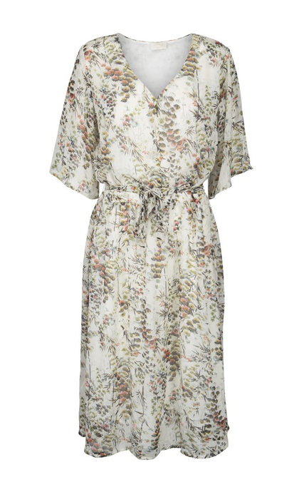 Minus Emelia Dress Botanical Flower Print