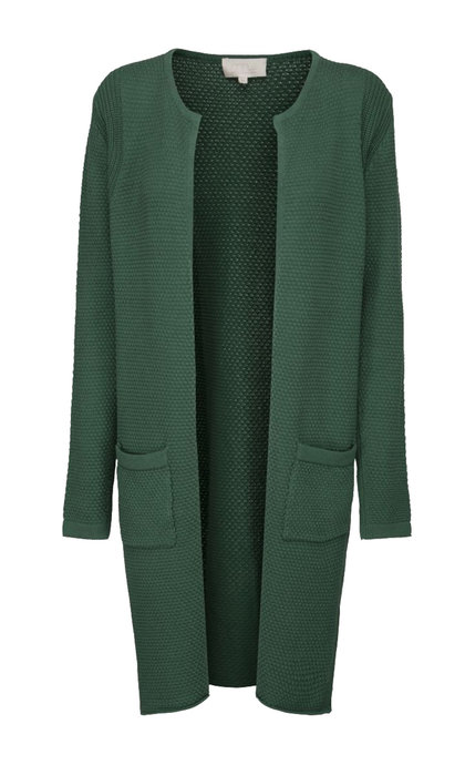 Minus Vibe cardigan Hunter Green