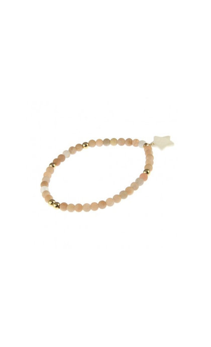 Blinckstar GF Aventurine matte 4mm Beads GF Elastic